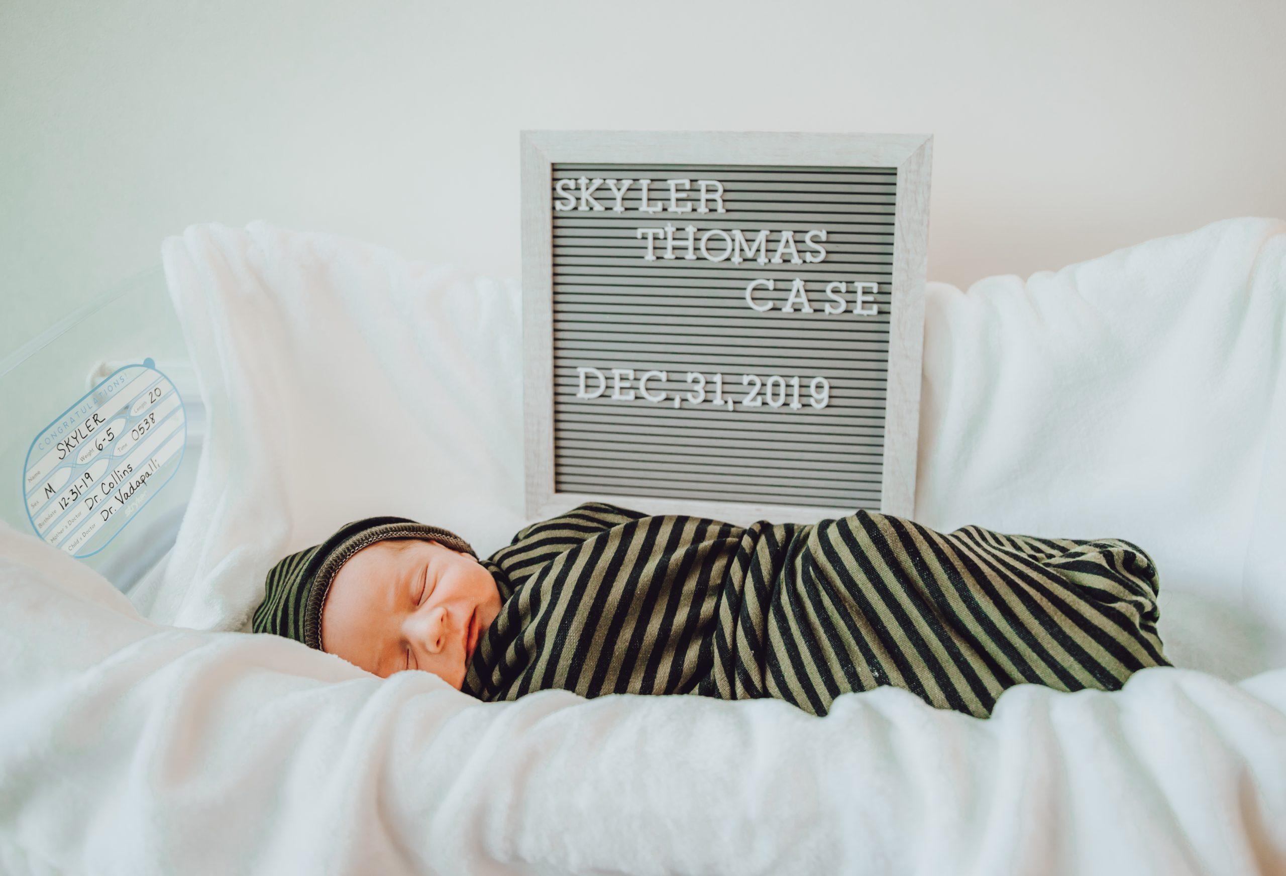 fresh 48 hospital newborn photos
