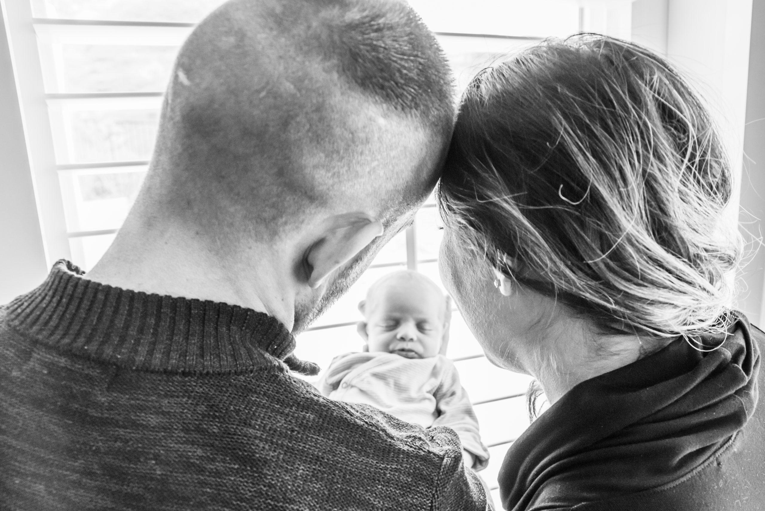 home lifestyle newborn photography