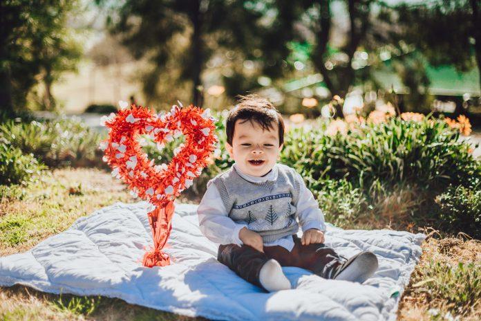 valentines day portrait photography