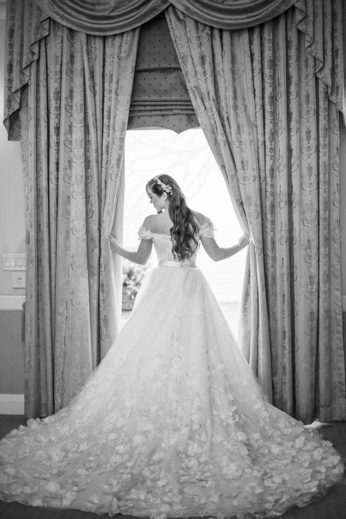 bride at the one event venue los angeles ca