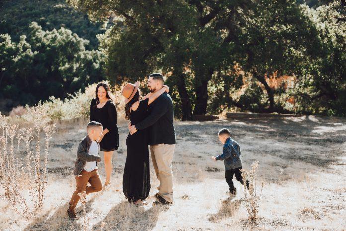 Placerita canyon family photos